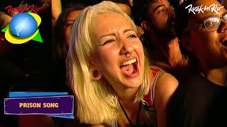 System Of A Down - Prison Song LIVE【Rock In Rio 2015 | 60fpsᴴᴰ】
