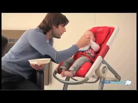 chaise haute transat keyo de bebe confort