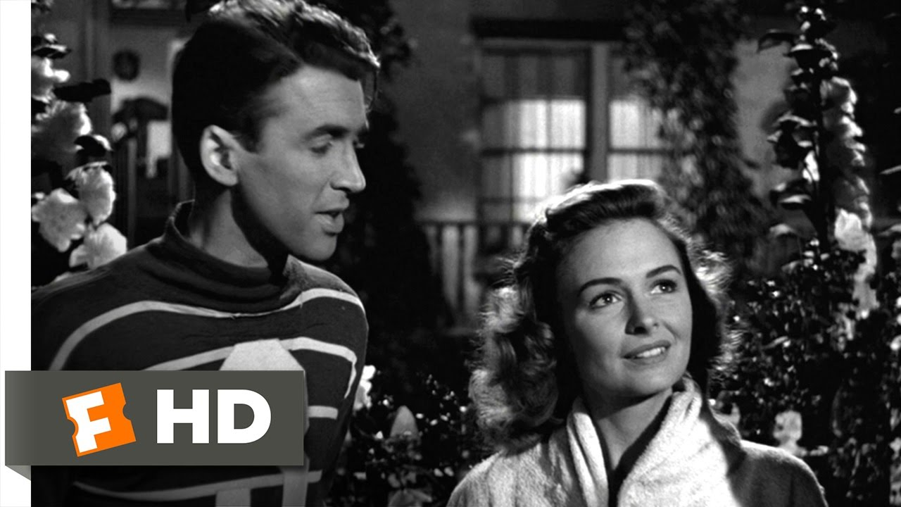It\'s a Wonderful Life (2/9) Movie CLIP - Lasso the Moon (1946) HD ...