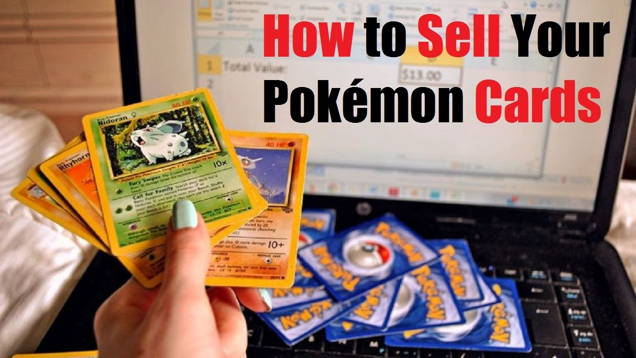 how to sell your pokmon cards - Where Can I Sell My Pokemon Cards In Person