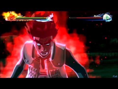 Guys 8th gate vs Madara : #Naruto Shippuden Ultimate Ninja Storm 4 edo naruto online
