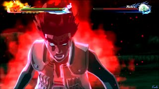 Guy's 8th gate vs Madara : Naruto Shippuden Ultimate Ninja Storm 4