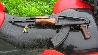 Пристрілка карабіна МА-АК (огражданенная версія автомата Калашникова)