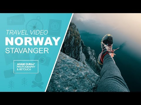 Our trip to Norway - Stavanger, Preikestolen [Canon 6D Video Magic Lantern]