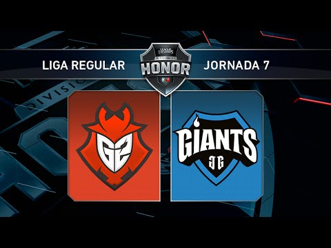G2 Vodafone vs Giants Only the Brave- #LoLHonor7 - Mapa 1 - Jornada 7 - T11