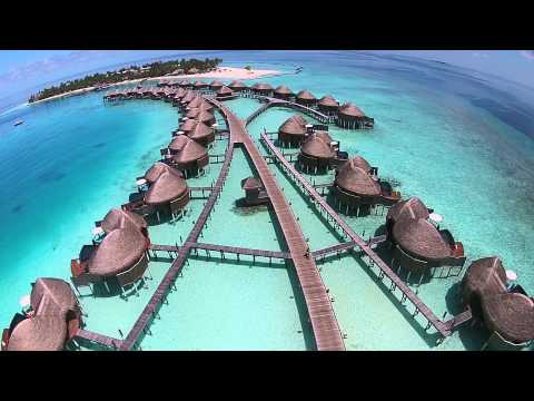 Constance Halaveli Aerial video from drone