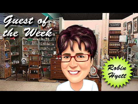 Thrifty Business Season 3 #21 Having A Booth In An Antique Mall w/ Robin Hyett