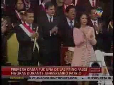 El protocolo de Fiestas Patrias 2012, el Factor Nadine Heredia - ATV