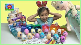 Coloring Easter Eggs w/ Frozen Egg PAAS Kit! Crafts for Kids