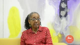 Leon Center. Interview with Gloria Rolando