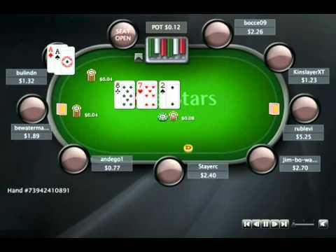 Раздача дня в школе покера PokerStarter: Лимп с АА