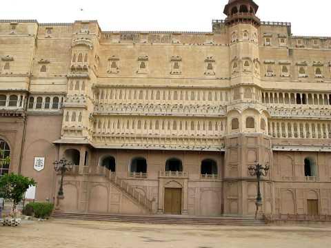 Junagarh Fort  Bikaner, Rajasthan, India.H D Video
