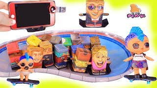 ИГРЫ ДЛЯ МАЛЬЧИКОВ ЛОЛ! TONY HAWK BOX BOARDERS GAME + LOL SURPRISE DOLLS! Куклы Лол Мультики