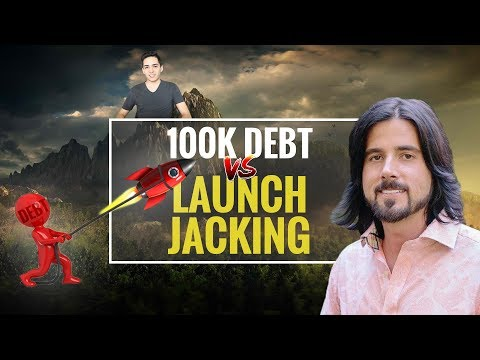 Climbing Out Of $100k in Debt with Launch Jacking and SEO