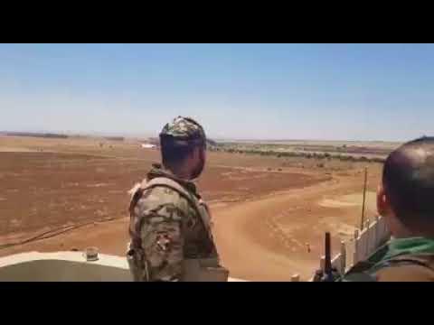Syria - Daraa : Tiger Forces Near the Jordanian Borders
