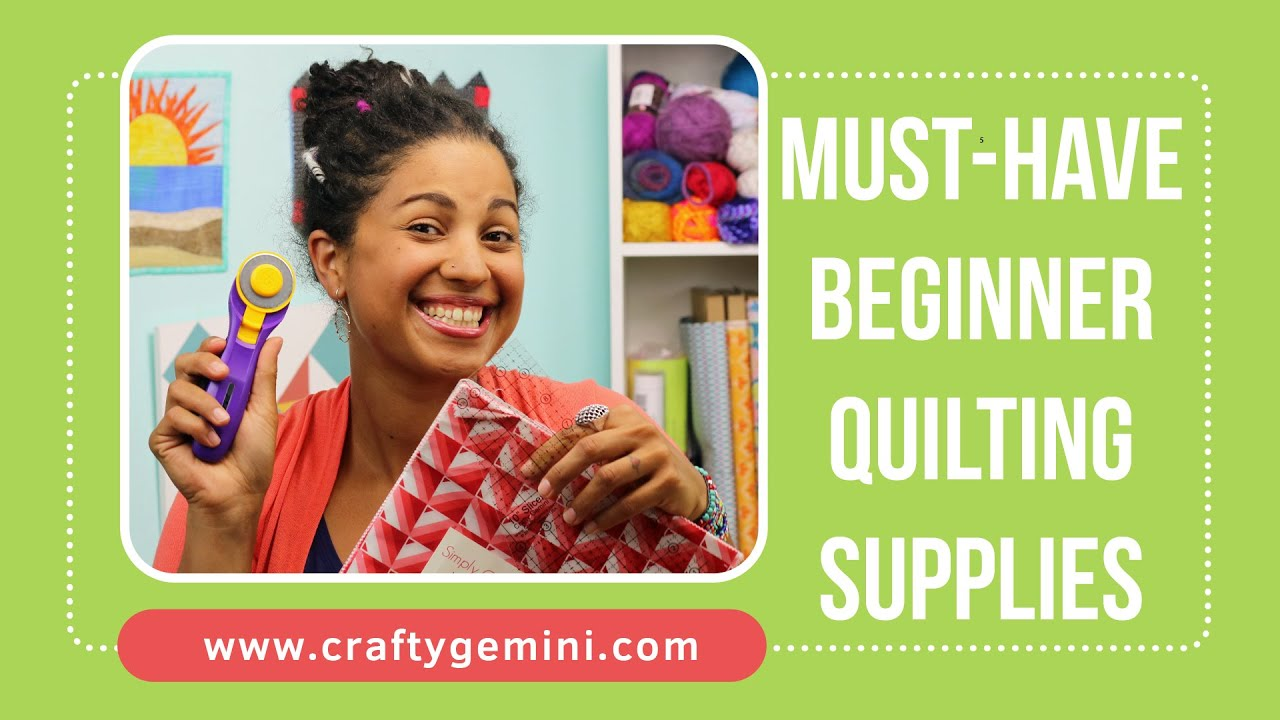 Must-Have Quilting Supplies for Beginners - YouTube : supplies for quilting - Adamdwight.com