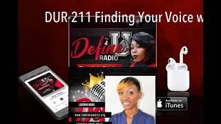 DUR-211 Finding Your Voice with LaDonna Marie