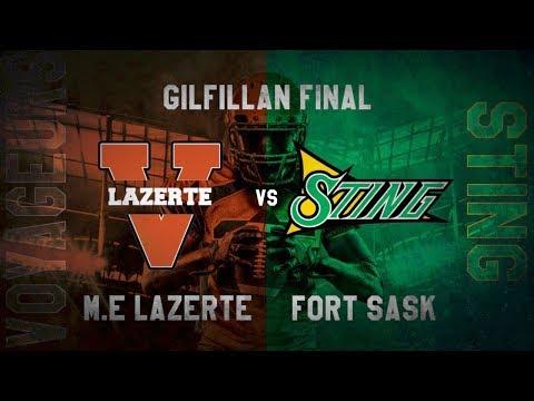 M.E. LaZerte Voyageurs vs. Fort Saskatchewan Sting - METRO ATHLETICS: GILFILLAN FINALS