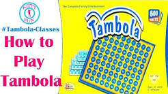 How to play Tambola | Learn Tambola Game with KittyFun