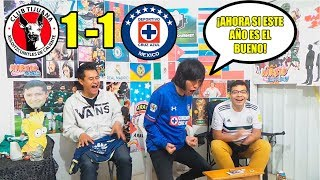 Reaccion al Xolos vs Cruz Azul (1-1) | Jornada 4 | Liga Mx