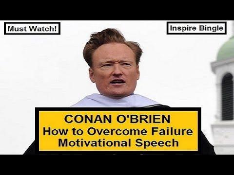 Conan O'Brien's Motivational Commencement Speech Video | Dartmouth College