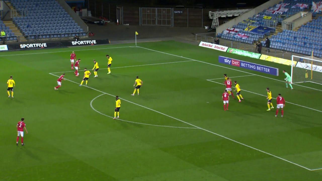 Оксфорд Юнайтед  0-2  Крю Александра видео
