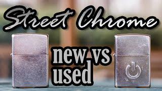 Zippo - Street Chrome New vs Used
