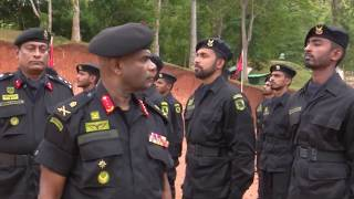 Special Forces Salute Their Colonel of the Regiment in Special Ceremony