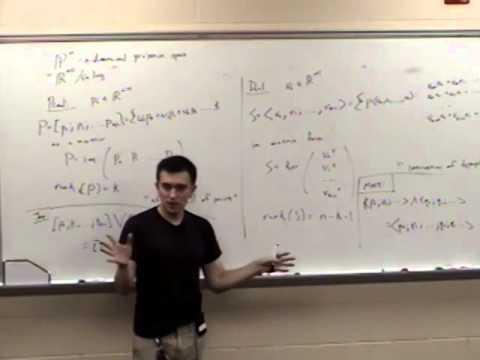 Computational Geometry Lecture 2: Affine and projective spaces