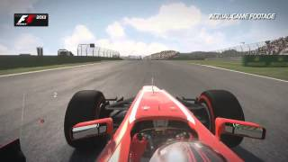 F1 2013 - Korea Hotlap Gameplay