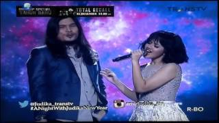Gambar cover Virzha feat Zahra 'Sampai Akhir'  @ A Night With Judika