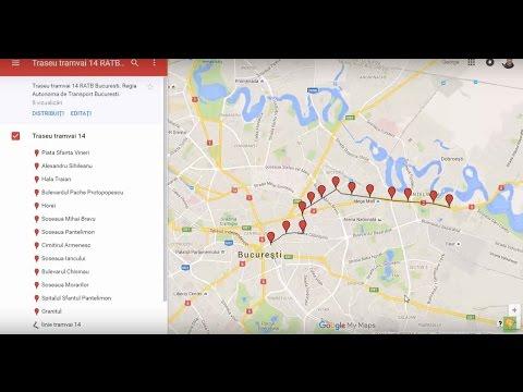 Traseu Tramvai 14 Ratb Bucuresti Youtube
