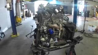 2008 Buick Enclave Engine Removal