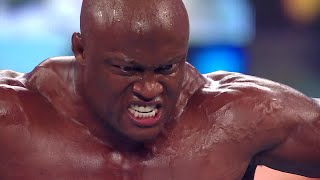 Bobby Lashley battles Cedric Alexander and Drew McIntyre battles King Corbin this Monday