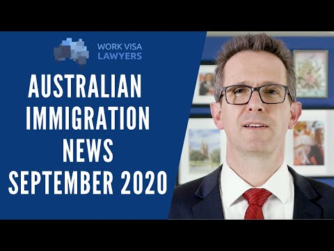 Latest Australian Immigration News - September 2020 - State Nomination, Occupation List & More!