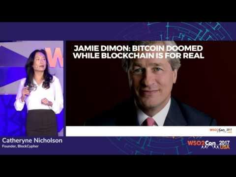 The Blockchain's Digital Disruption, WSO2Con USA 2017