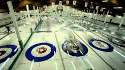 Removing the ice at The Granite Curling Club, Saskatoon