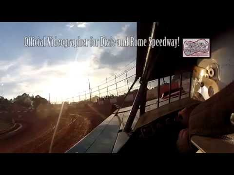 Austin Smith #84 Steelhead Latemodel In-Car Camera! Dixie Speedway 7/2/16