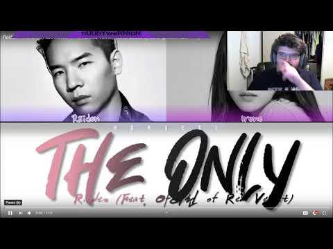 K-Pop N00b First Reaction To Raiden - 'The Only (Feat. Irene (아이린) Of Red Velvet)' Lyrics