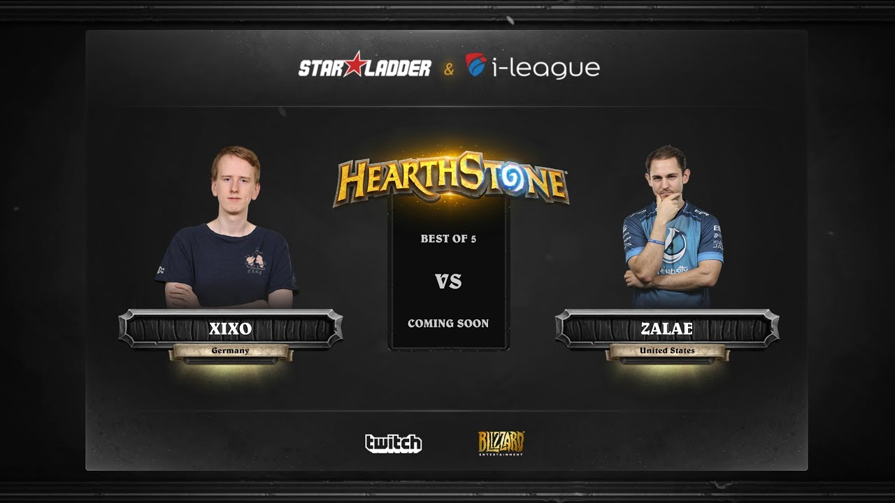 [EN] Xixo vs Zalae | SL i-League Hearthstone StarSeries Season 3 (30.05.2017)