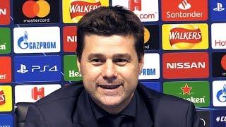 Man City 4-3 Tottenham (4-4) - Mauricio Pochettino Post Match Press Conference - Champions League