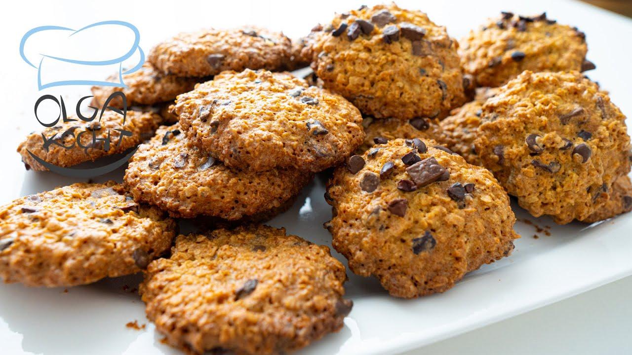 Leckere Haferflocken Kekse Blitzschnell gemacht - Vegetarisch