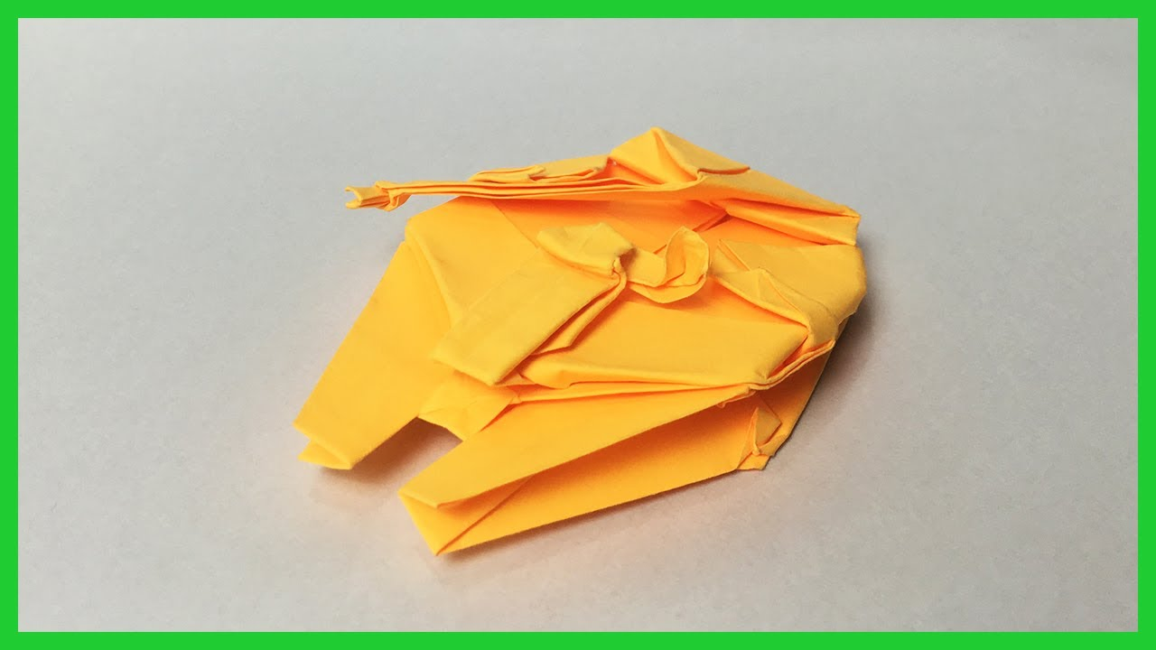 Wie man einen Origami-Millennium Falcon bastelt - WinFuture.de | 720x1280