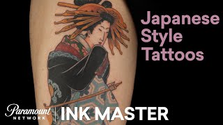 Best Japanese Tattoos 🇯🇵 Ink Master