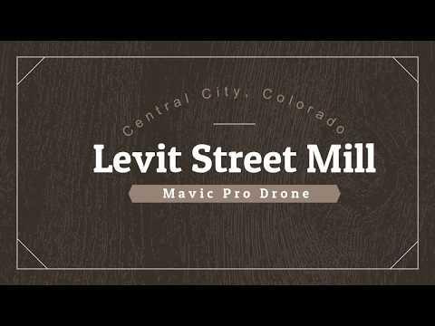 Historic Levit Street Mill. Colorado Gold Mining Town - Central City