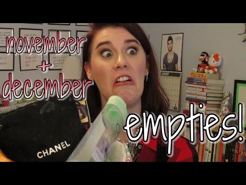 Products I've Used Up/Empties #19: November & December 2014