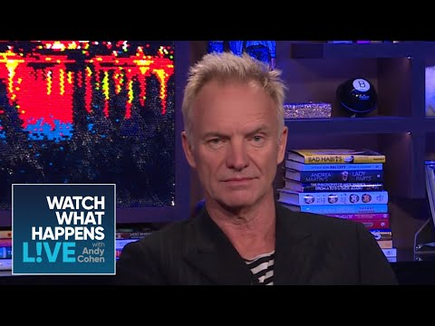 Fun Facts About Sting And Shaggy | WWHL