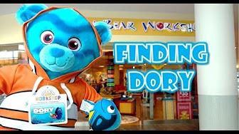 68fa85d7759 Disney s Finding Dory Movie Pixar Build A Bear Plush Snacks Candy by  LuckyLionbear - YouTube
