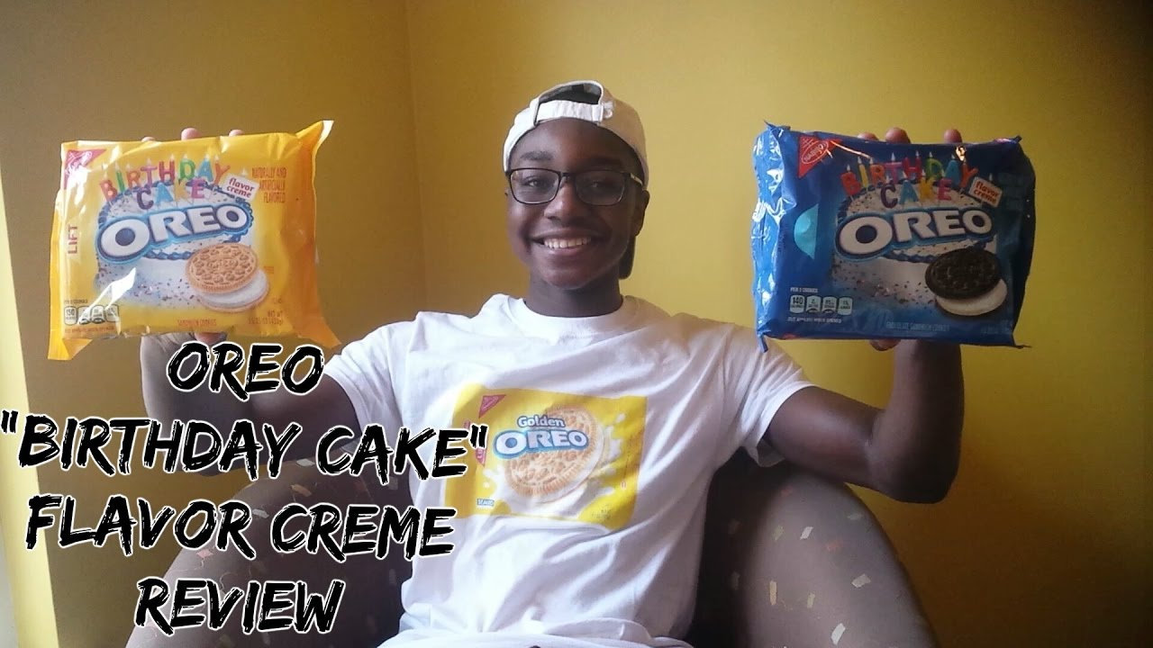 Oreo Birthday Cake Flavor Review Youtube