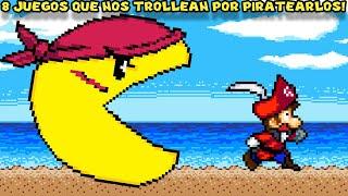 7 Videojuegos que nos Humillan y Trollean por Piratearlos - Pepe el Mago
